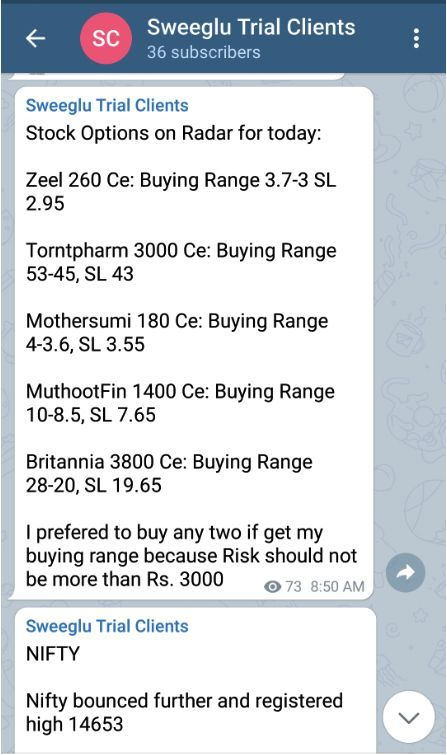 Nifty Option Tips